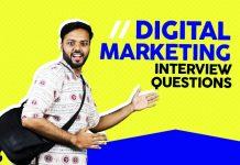 digital marketing interview questions basic