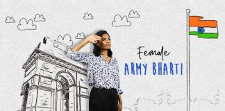 ndian army female recruitment bharti 2019 ki jaankari
