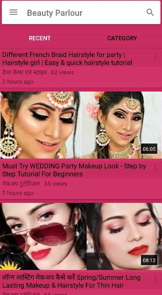 Beauty parlour course hindi mein
