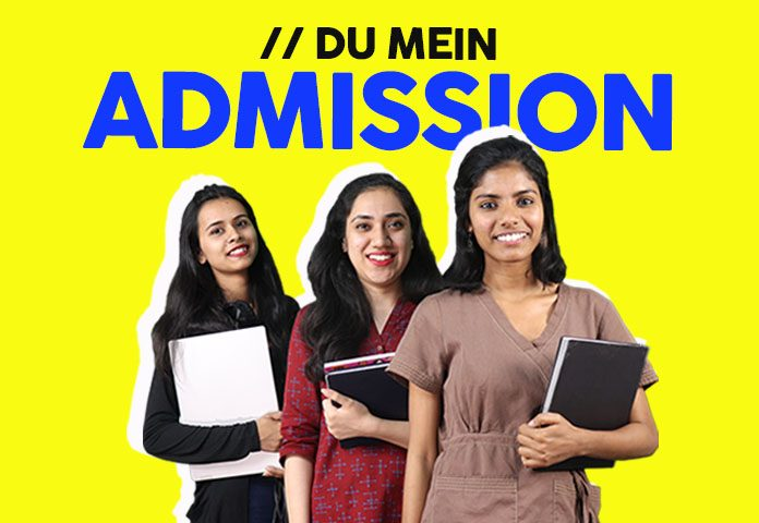DU admission aur online registration process se judi puri