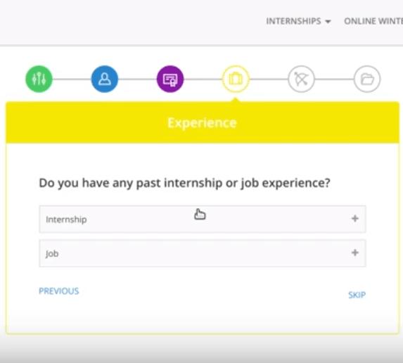 internshala account experience-min