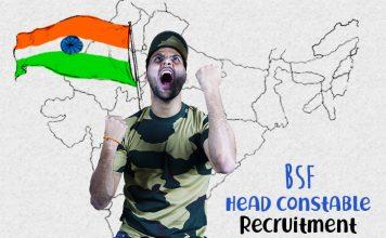 bsf head constable bharti ki puri jaankari