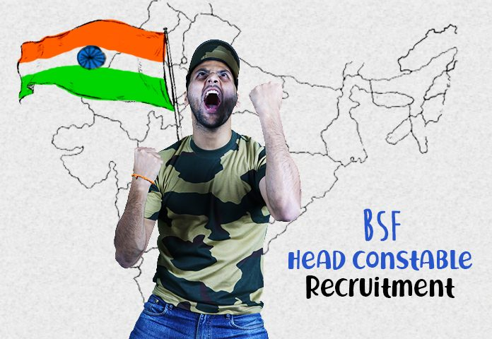 bsf head constable bharti admit card