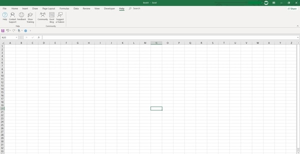 MS Excel Kaise Sikhe- Excel Worksheet