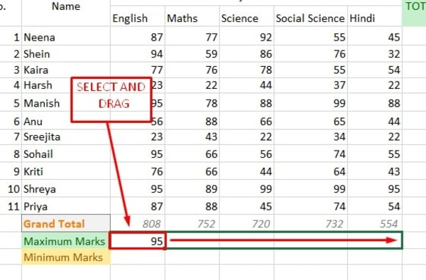 Advance Excel in Hindi - Excel Formulas in Hindi Example Ke