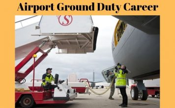 airport ground staff work in hindi