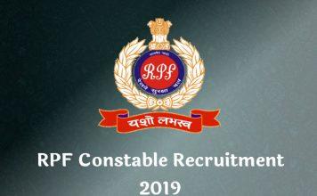rpf constable recruitment