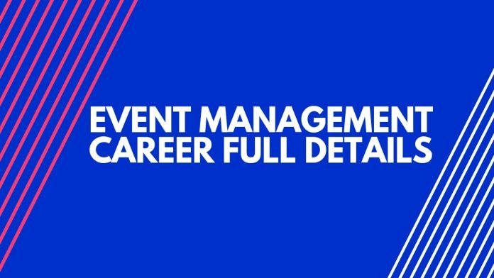 event management career