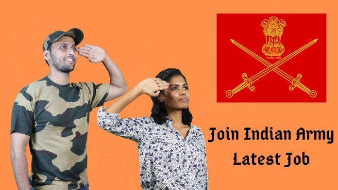 join indian army latest notification