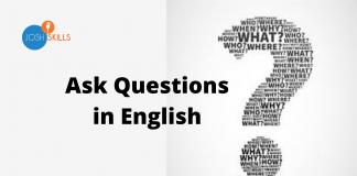 English mai Questions Kaise Puche