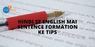Hindi-to-English-Sentence-Formation