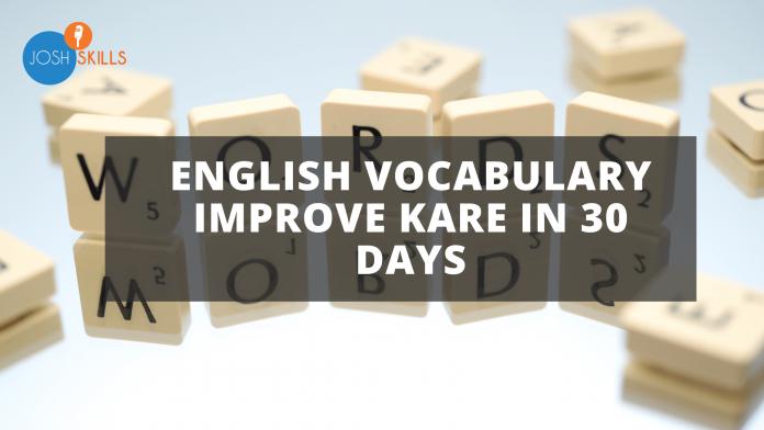 Vocabulary Improve