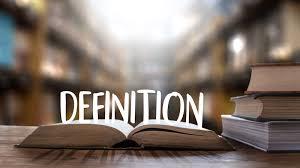Definition - English Grammar